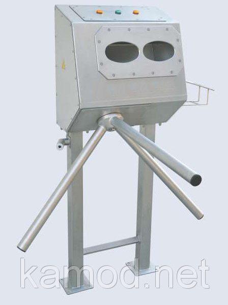 Санпропускник дезинфектор для рук с турникетом автоматический