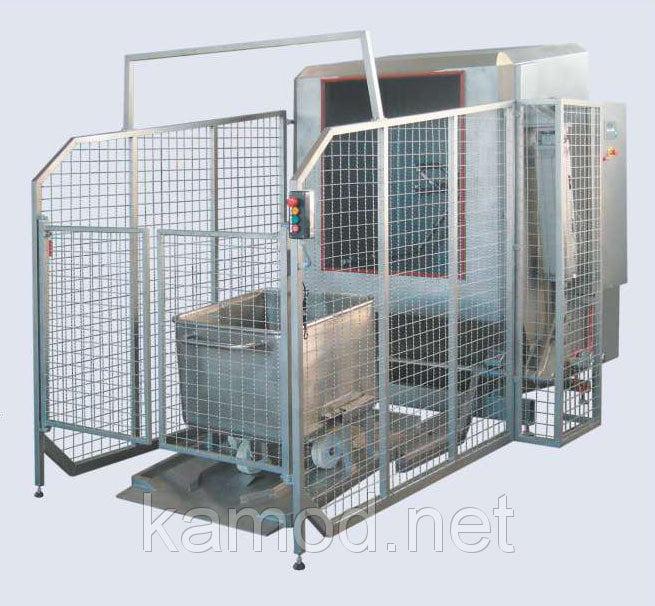 Установка для мойки евро-тележек на 200 литров