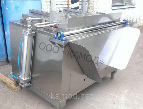 Электрический котел варочный на 680 литров с выгрузкой из нержавейки