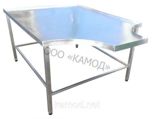 Формовочный стол с двумя вырезами