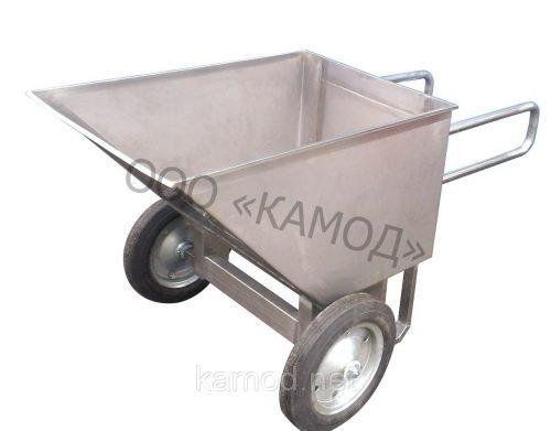 Усиленная тележка-рикша из нержавейки