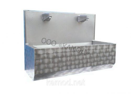 Купить умывальник сенсорный с фотоэлементом две секции