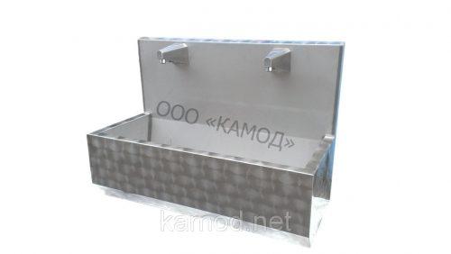 Купить сенсорный умывальник с фотоэлементом две секции