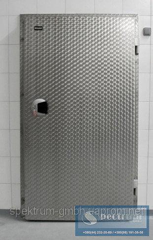 Двери холодильные одностворчатые распашные