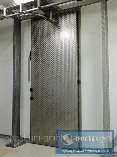 Двери одностворчатые для подвесных путей