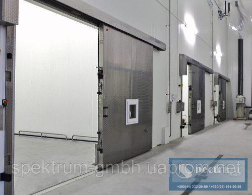 Двери одностворчатые автоматические