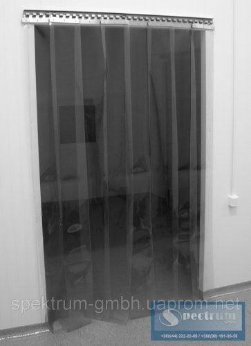 Маятниковые двери с ленточным занавесом