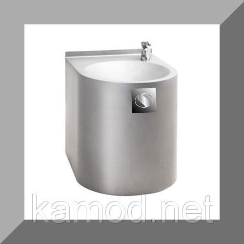 Питьевой фонтанчик с ручным управлением из нержавейки